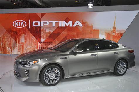 All New Kia Optima All New 2016 Kia Optima Unveiled With Familiar Look