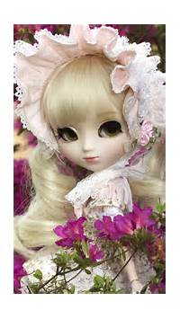 Cute Doll Girl IPhone 6 / Plus And 5/4 Wallpapers