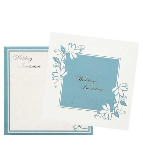 Nakoda Cards Elegant Wedding Invitation Card   Pack Of 100