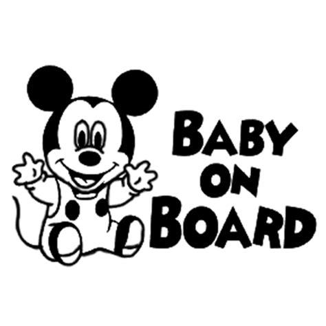 Window Decals Disney by Disney Baby On Board Die Cut Vinyl Decal Pv1430