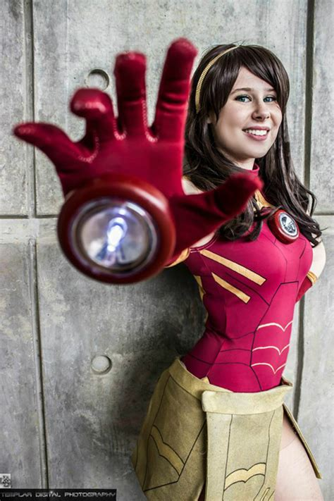 female iron man cosplay