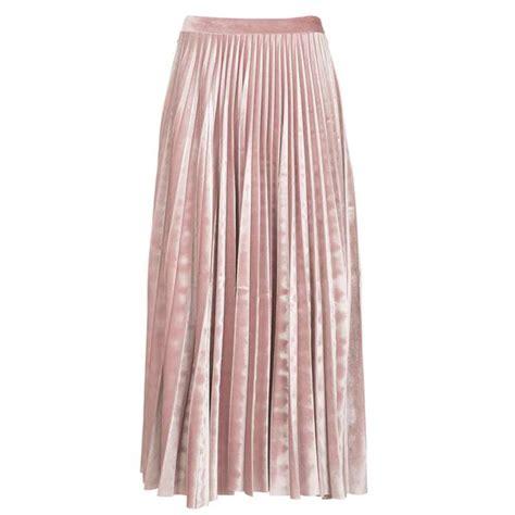 Velvet Pleated Maxi Skirt velvet pleated midi skirt by topshop