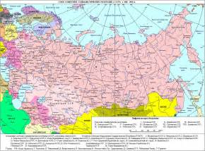 maps of soviet union