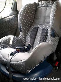 Auto Kindersitz Bezug N Hen by Nadelzauber Ein Neuer Bezug F 252 R Den Auto Kindersitz Mit