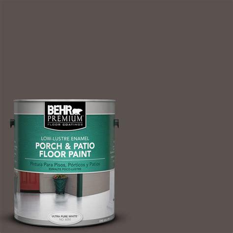 behr premium 1 gal 790b 6 hearth low lustre porch