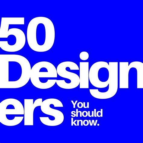 50 designers you should 3791383620 graphic design inspiration 50 amazing designers you should know graphics inspiration and design