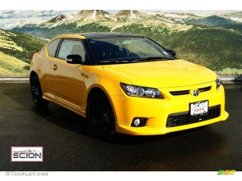 scion yellow 2012 high voltage yellow scion tc release series 7 0