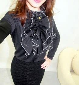 Baju Blouse Atasan Wanita Renda Cantik Korea Murah kemeja wanita model renda modis model terbaru jual