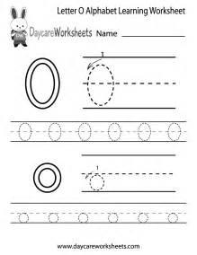 free letter alphabet learning worksheet preschool