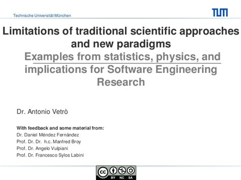 exles of limitations in research papers limitations of traditional scientific approaches and new