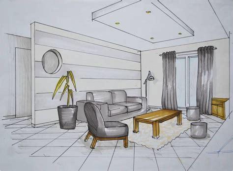 Dessin De Decoration D Interieur by Apprendre A Dessiner L Interieur D Une Maison