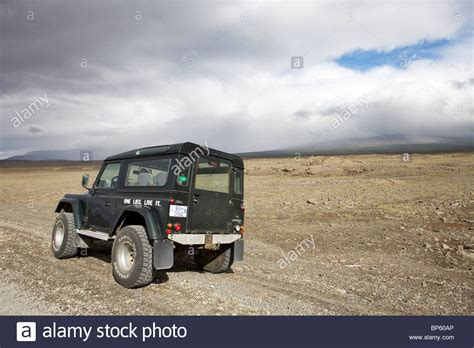 land rover iceland land rover defender 90 300 tdi in the interior highlands