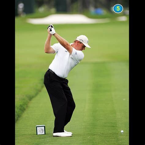 golf swing without wrist hinge ernie els swing sequence golf com