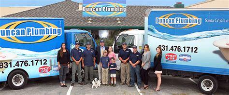 Plumbing Services Santa Cruz, CA   Duncan Plumbing