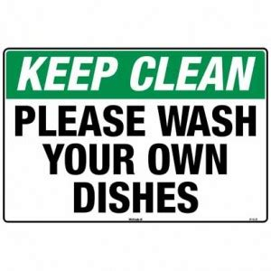 wash your own the dishes cleaning quotes quotesgram