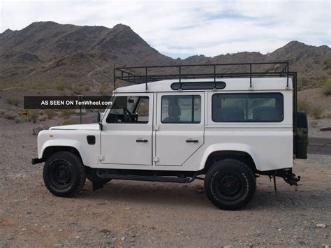 land rover 110 defender 1988 lhd
