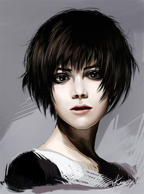 digital hairstyles on upload pictures short hair girl 2 by kinohara kossuta on deviantart