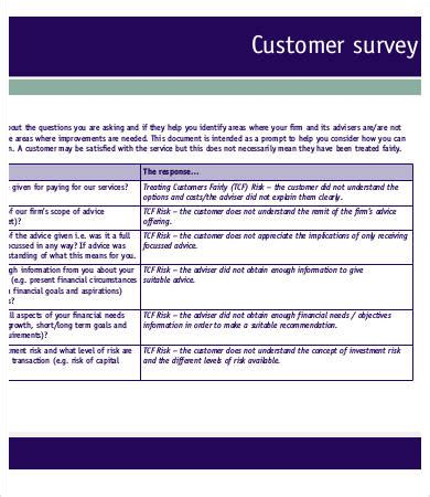 Printable Survey Template 6 Free Word Pdf Documents Download Free Premium Templates Free Printable Survey Template