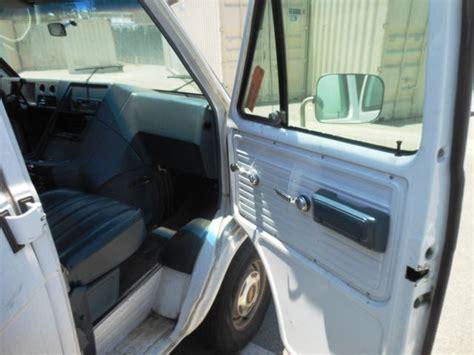 airbag deployment 1994 chevrolet g series g20 auto manual how to remove 1994 chevrolet g series g10 crankshaft der 1994 chevrolet chevy van overview