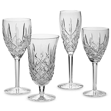waterford barware waterford 174 araglin crystal stemware and barware bed bath