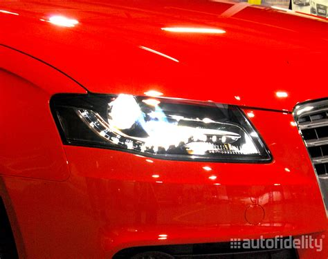 audi a4 headlights bi xenon headlight retrofit upgrade from halogen to bi