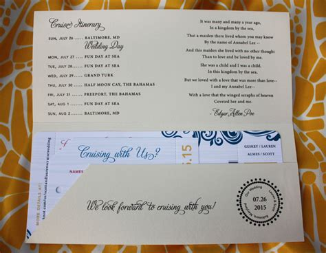 Wedding Announcement Clue by Invitation To Italian Poetry