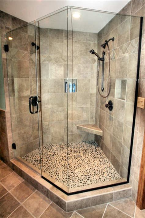 bathroom tile ideas for showers mequon custom tiled shower modern bathroom milwaukee
