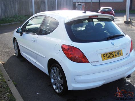 white peugeot for sale 2008 peugeot 207 sport xs 150 white