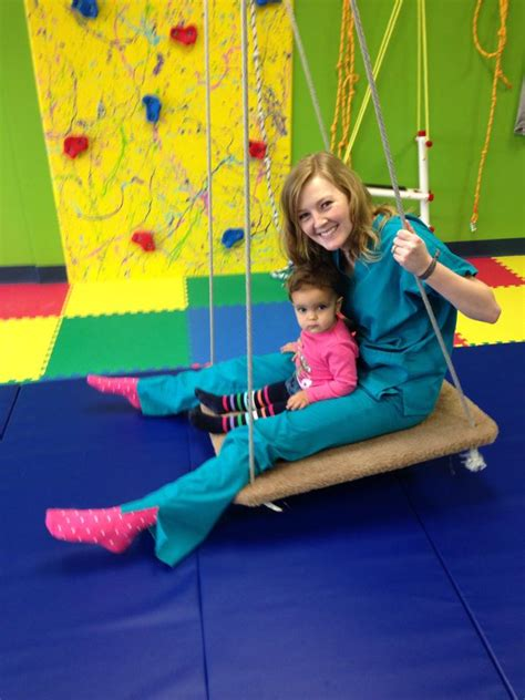 occupational therapy swing what can ot and a sensory gym do for your child capital