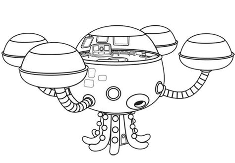 Gup C Coloring Page by Octonaut Gup X Coloring Page Sheets Coloring Pages