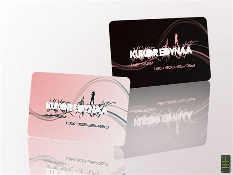 Hair Dresser Business Cards by Hair Stylist Business Cards