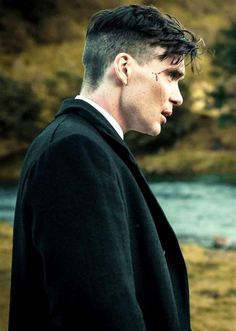 corte de cabello peaky blinder cillian murphy just because he is so fantastically