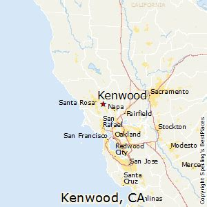 kenwood california map best places to live in kenwood california