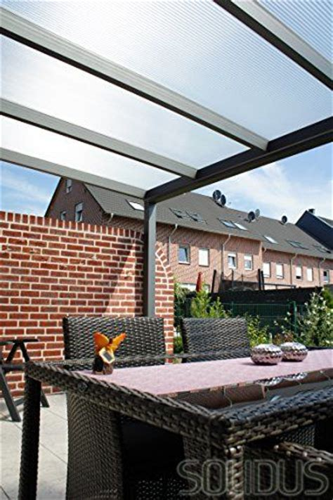3 fach carport solidpremium 400 215 300 cm bxt alu terrassen 252 berdachung