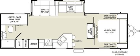 terry travel trailer floor plans 2007 fleetwood terry travel trailer rvweb com