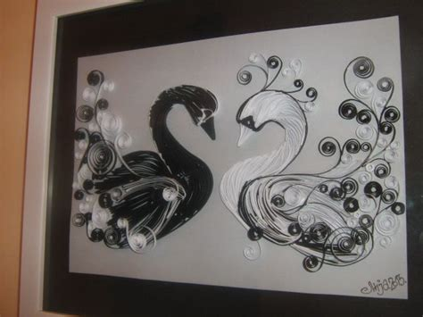 quilling swan tutorial 15 best middle school craft ideas images on pinterest