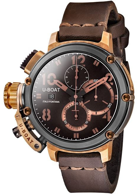 u boat watch chimera u boat watch chimera 46 black bronze limited edition 7475