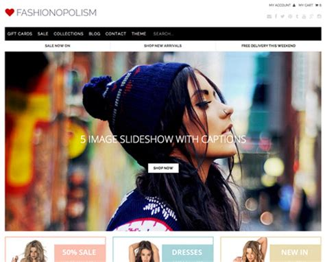 shopify themes vantage top 50 shopify themes for your ecommerce store