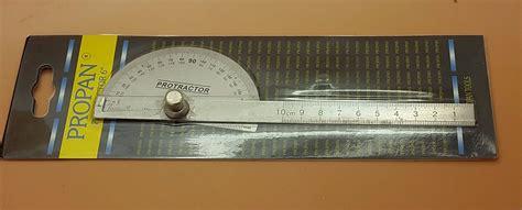 Dijual Busur Derajat Protactor Alat Ukur Sudut Penggaris Sudut jual beli busur derajat protactor alat ukur sudut