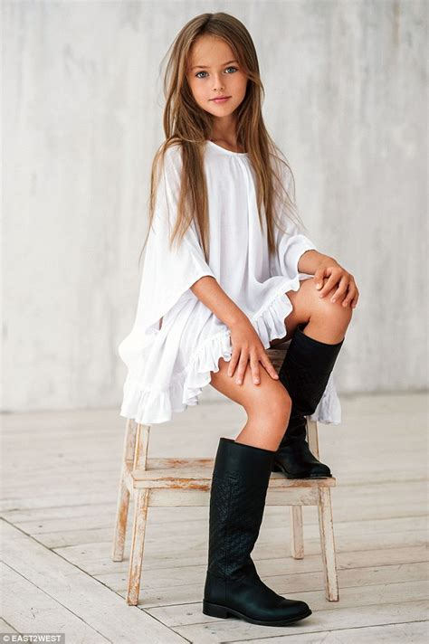 little girl modeling provocatively meet kristina pimenova quot the world s most beautiful girl quot