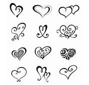 CR Tattoos Design Small Heart For Women
