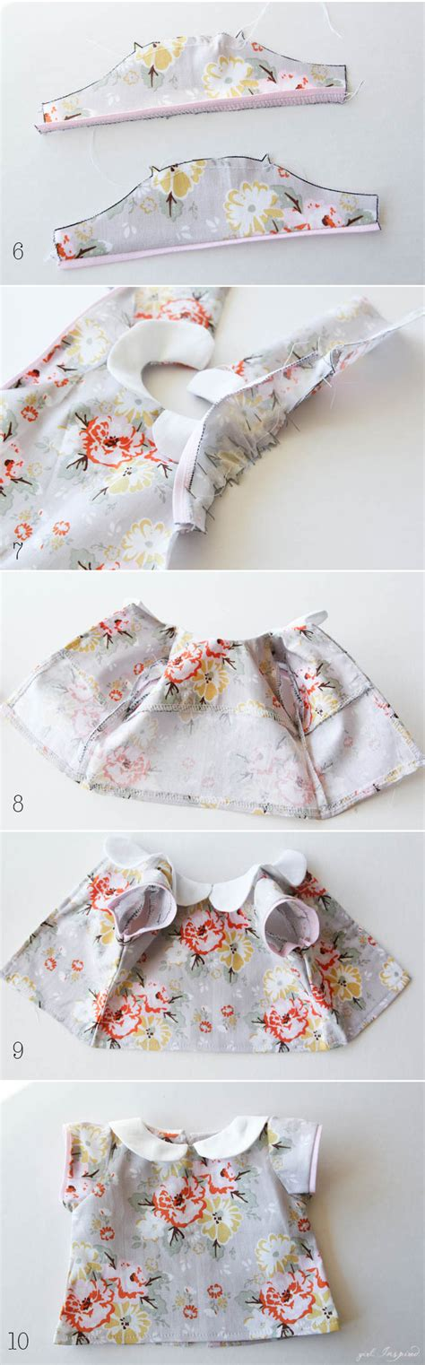 doll clothes pattern tutorial doll clothes panel tutorial girl inspired