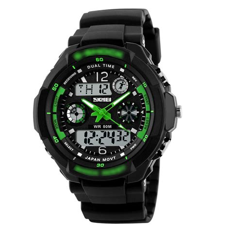 S Shock Sport 2168 new s shock sport quartz wrist mens analog digital waterproof ebay