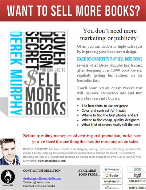 How To Make A Sell Sheet For Your Book With Free Templates Creativindie How To Sell Templates