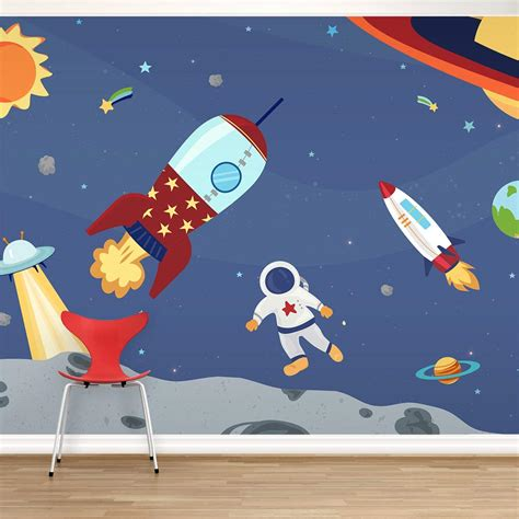 space wall murals lovely space wall mural home design 926