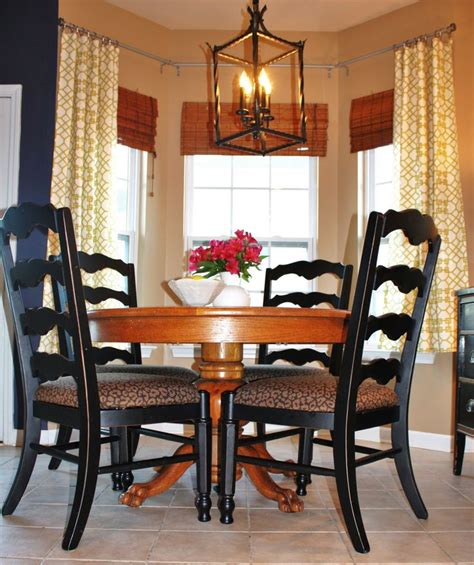 how to hang curtains in bay window how to hang curtains on angled windows home sweet home