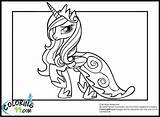 Princess Cadence Coloring Pages