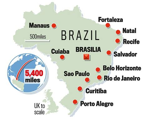 world cup venues world cup 2014 venues brazil stadium guide daily mail