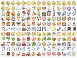 faccine con le lettere tutte le faccine quot emoji quot da scrivere anche in