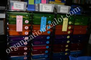 Photos of Homeschool Organization